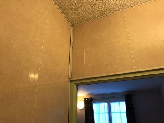 """Best Western Hotel Ile De France: autre chambre qualité """"classique"""" parement mural plastic!"""