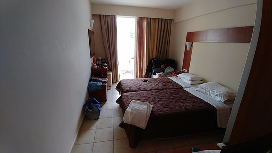 Messonghi Beach Resort: Again they call this superior room you having a laugh you can move around