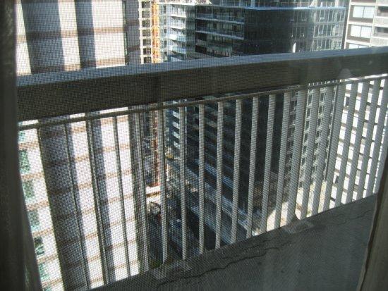 Chelsea Hotel, Toronto: Balcony and view.