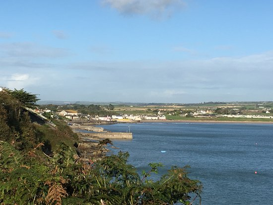 Ardmore, Irland: View from cliff walk