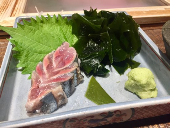 One of the best if not the best omakase in town