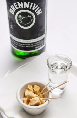 FERMENTED SHARK AND BLACK DEATH SCHNAPS – Try first, ask questions later!