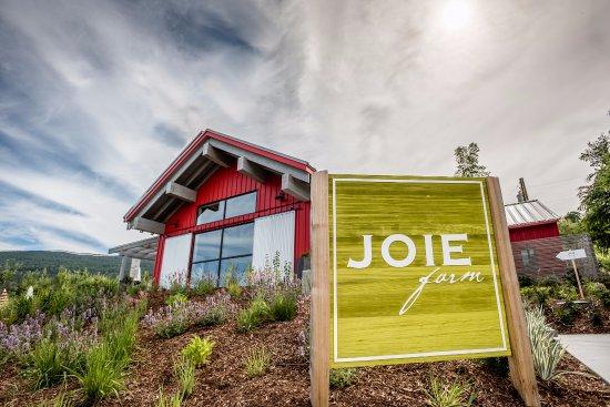 Naramata, แคนาดา: JoieFarm Tasting Room