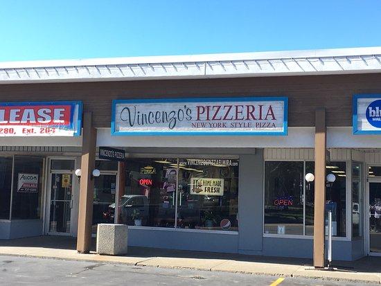 Elmira, Nowy Jork: Vincenzo's Pizzeria