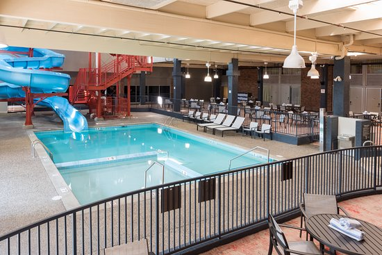 Grand Rapids Hotels >> Indoor Water Park Picture Of Delta By Marriott Grand