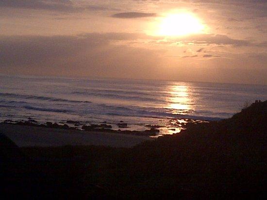Wild Waves Chalets: surise