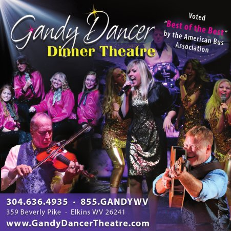 Elkins, Virgínia Ocidental: Gandy Dancer Theatre Best of the Best
