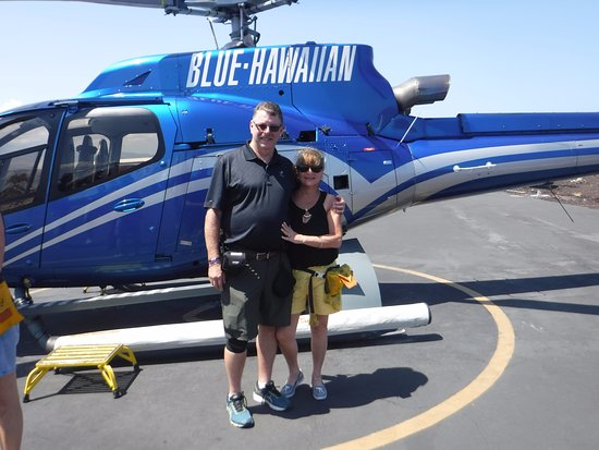 Blue Hawaiian Helicopters - Hilo: After our flight Photo
