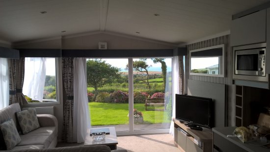 Poughill, UK: Ask for the Atlantic home - nearest to reception