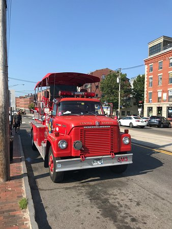 Portland Fire Engine Co: From the front.