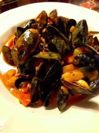 Achnasheen, UK: excellent mussels