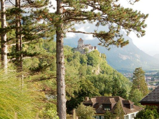 Parkhotel Sonnenhof: Aussicht aus dem Adlernest