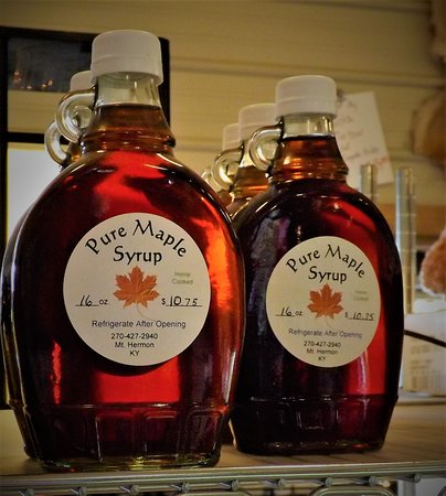 Emory, TX: Maple syrup