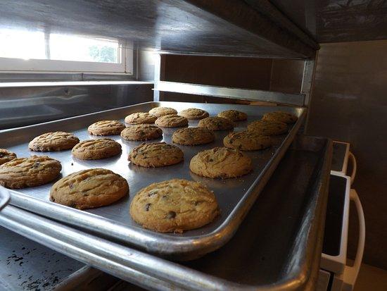 Emory, TX: fresh baked cookies
