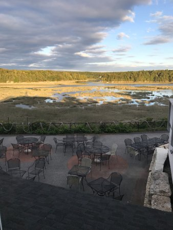 Woolwich, ME: View of the water from the dining room
