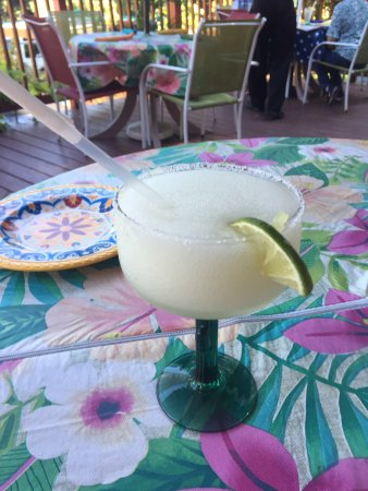 Sugar Loaf, NY: Plain frozen margarita