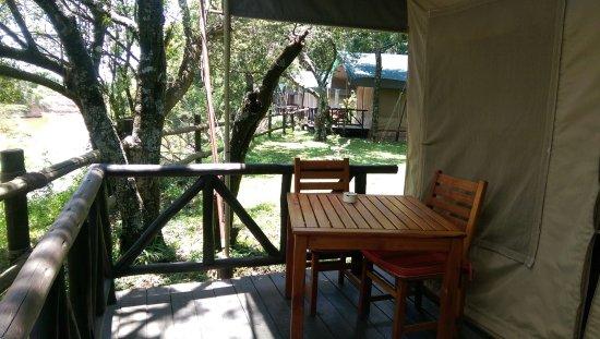 Fairmont Mara Safari Club: River facing tent