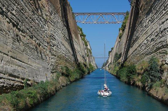 Elysium Travel: Corinthe le canal à voir