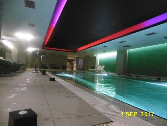 Arty Grand Hotel: εσωτερική πισινα