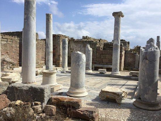 Αρχαιολογικός Χώρος Δήλος