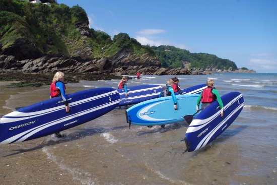 Combe Martin, UK: Stand up paddle board hire & lessons by fully qualified instructors