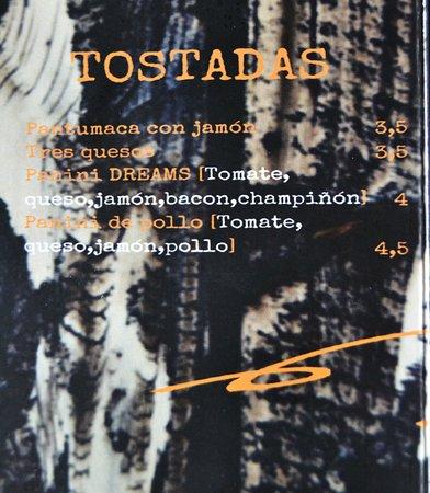 Dreams: Múltiples Tostadas.