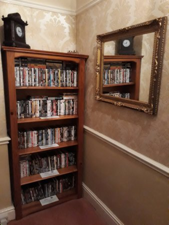 Craiglands House: DVD library