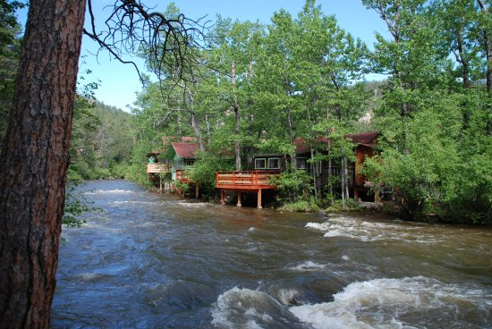 Loveland Heights Cottages: Beautiful Big Thompson River