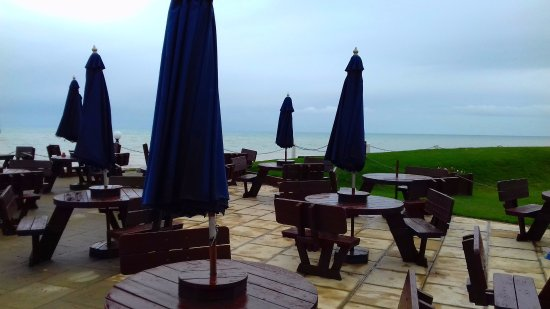 Bexhill-on-Sea, UK: terrace