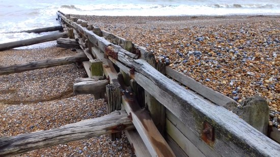 Bexhill-on-Sea, UK: The beach