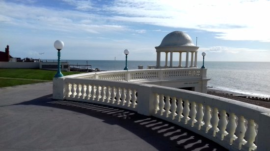 Bexhill-on-Sea, UK: the terrace