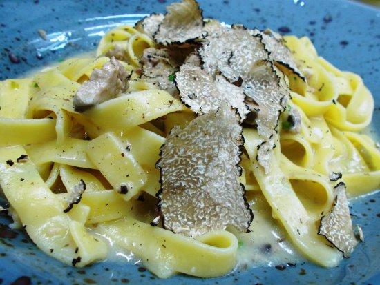 Надьканижа, Венгрия: Pasta con truffel