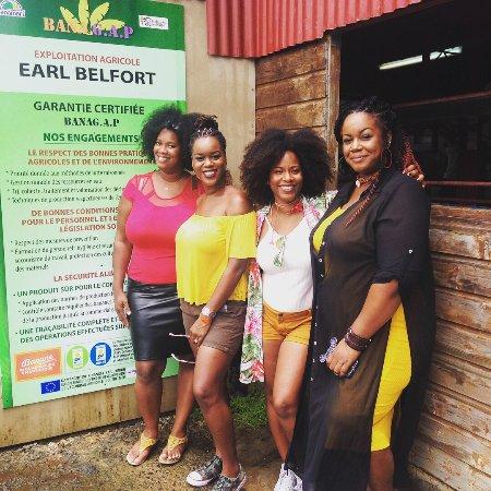 Le Lamentin, Martinique: Les bloggeuses de martinique qui rendent visite à l'habitation Belfort