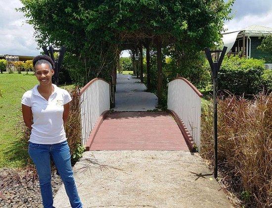 Le Lamentin, Martinique: Toujours le sourire à l'habitation Belfort