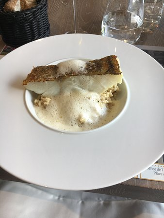 Saint-Imoges, France: Main Course