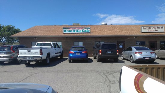 Dewey, AZ: Blue Hills Cafe in Dewy, Arizona. Great cafe with lots of local charm.