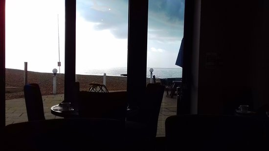 Bexhill-on-Sea, UK: View from dining room