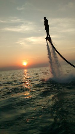 Port Stanley, Canada: jetpack adventure