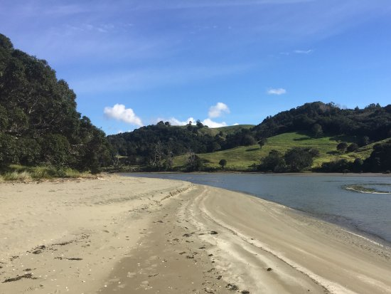 Waiwera, New Zealand: Wenderholm beach