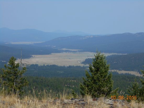 Marion, MT: Lost Prairie Overlook