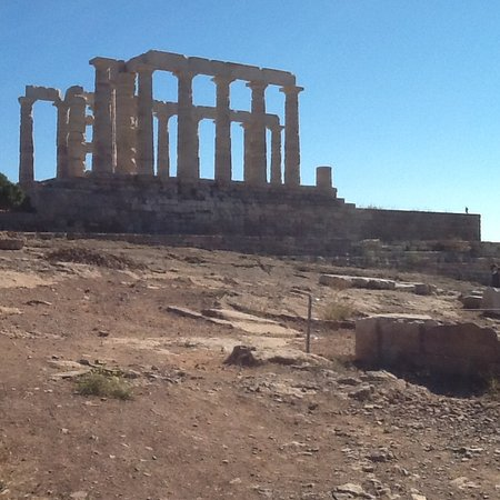 Athens Taxi John's Yellow Cab: Poseidon's Temple at Cape Sounion