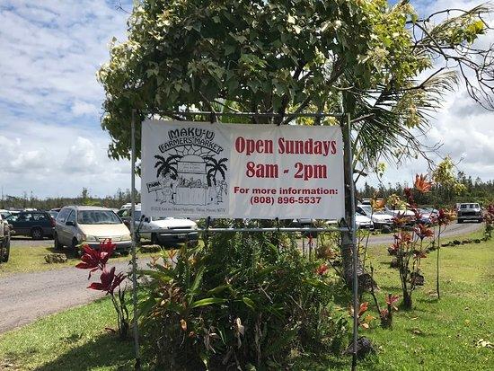 Pahoa, HI: 毎週日曜日の開催です。