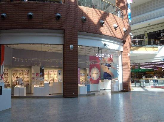 Bonarka City Center: Muitas lojas tradicionais.