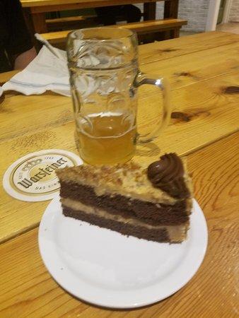 Biergarten on Lamar: German Chocolate Cake and Beer