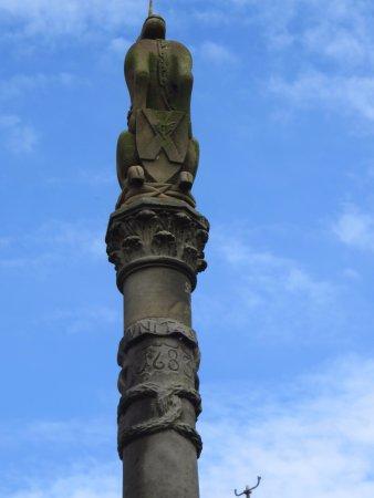 Mercat Cross: the top
