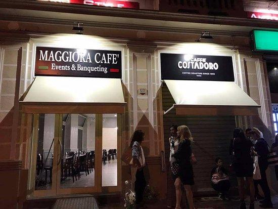 Maggiora Cafe Events & Banqueting dal 1962 : L esterno!!!!