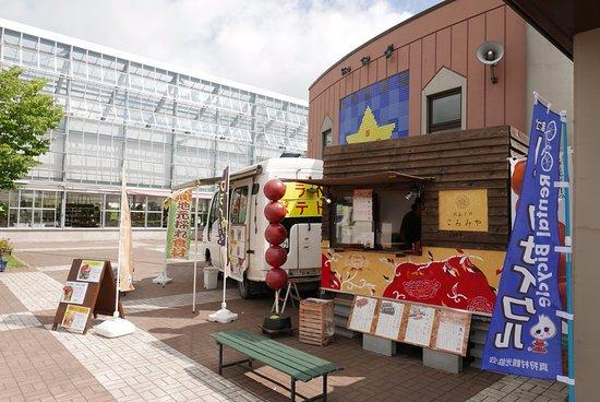 Makkari-mura, Ιαπωνία: 外にあるお店