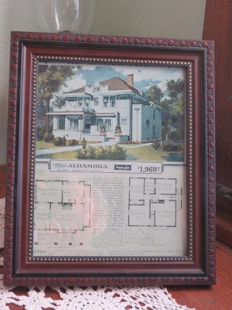 Triangle Ranch Bed & Breakfast: Sears catalog page -- the Alhambra
