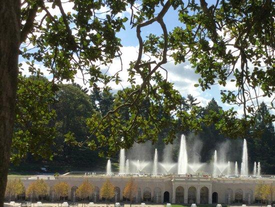 Kennett Square, PA: The Main Fountain Garden