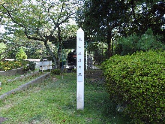 Kameyama, Japan: 多聞櫓の目の前の公園です